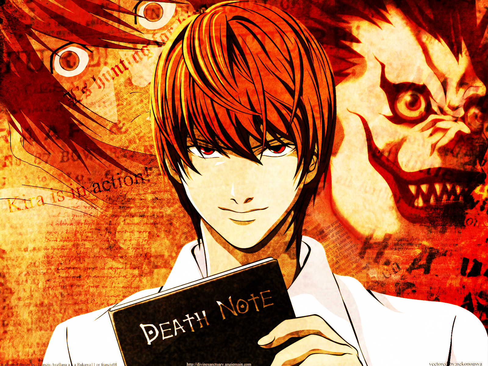 Wallappers Death Note