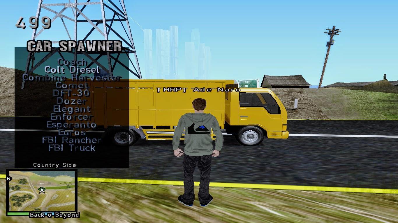 Vehicle Spawner Gta San Andreas 3