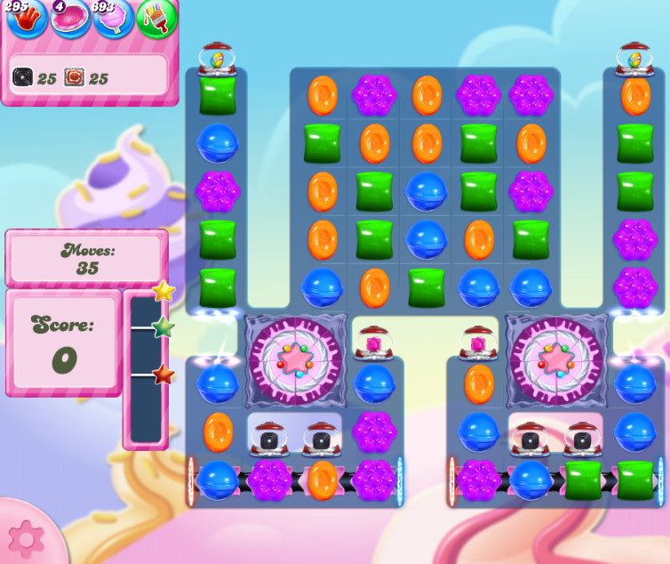 Candy Crush Saga level 2832