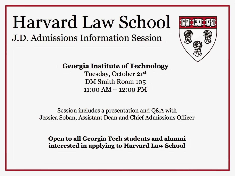 Harvard law admissions resume
