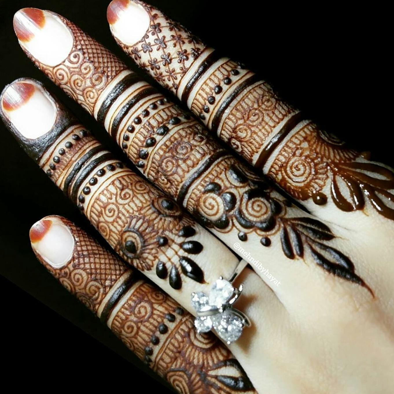Finger Henna Designs Mehndi Designs For: Mehandi Designs: Finger Designs By Hayat
