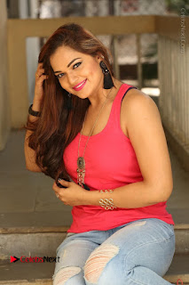 Tollywood Actress Ashwini Latest Stills in Ripped Jeans  0163.JPG
