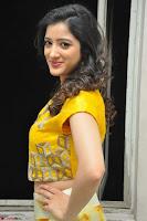 Richa Panai in Yellow Slim Fit Crop top ~ CelebxNext 003.JPG