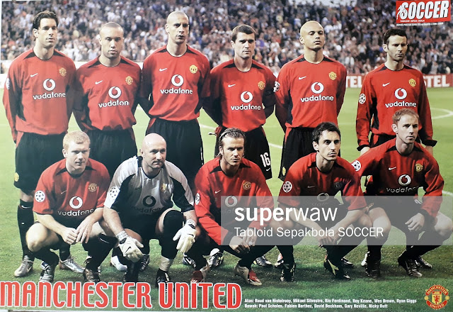 TEAM MANCHESTER UNITED 2003
