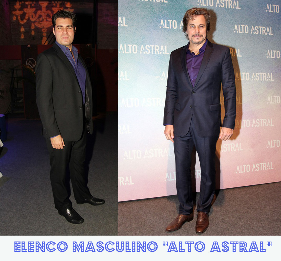 Elenco masculino de Alto Astral: Thiago Lacerda e Edson Celulari (blog Lulu on the Sky - Foto: Celso Tavares / Ego)
