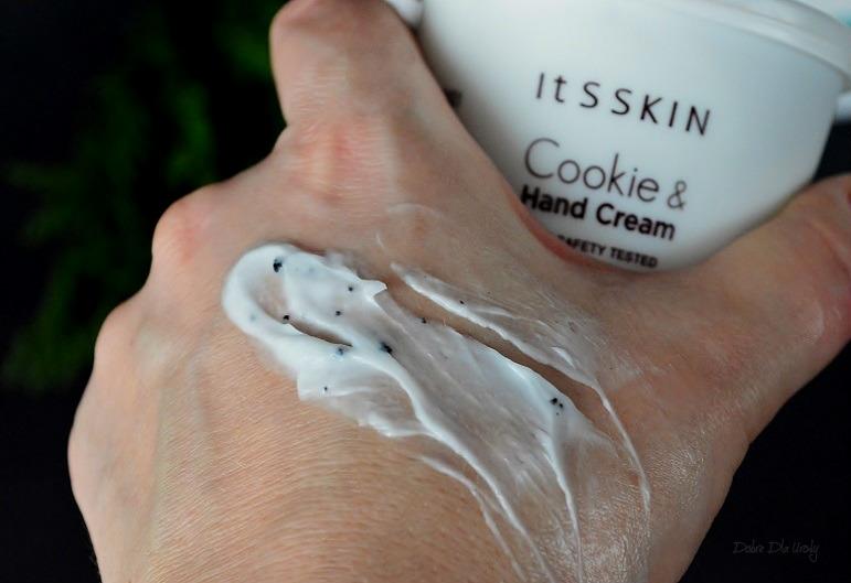 IT'S SKIN Cookie & Hand Cream Mint - Krem do rąk o zapachu Maślanych Ciasteczek z Miętą recenzja