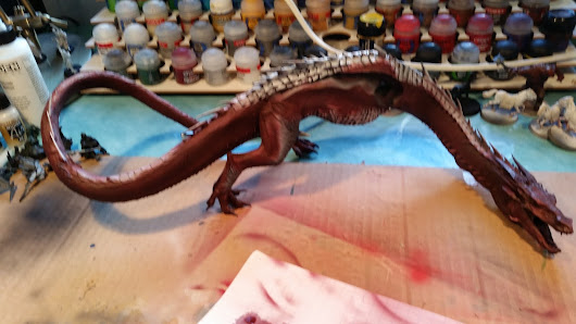 A lot done, but still far from finished (third update smaug)