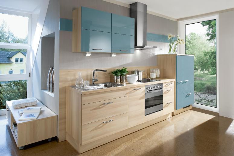 Cocinas lineales grandes y peque as cocinas con estilo for Cocinas en linea recta