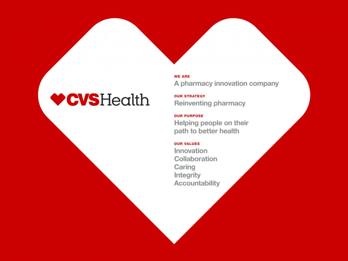cvs health 上榜 理由 搞 定一 站 式 健康