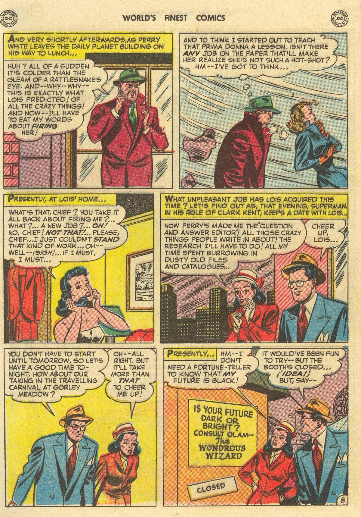 Read online World's Finest Comics comic -  Issue #51 - 10