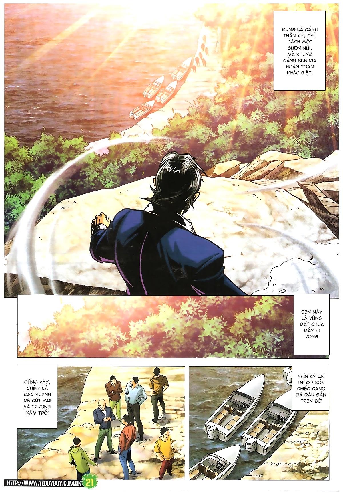 Người Trong Giang Hồ - Chapter 1616: Triệu Kế Bang vs Đinh Dao - Pic 19