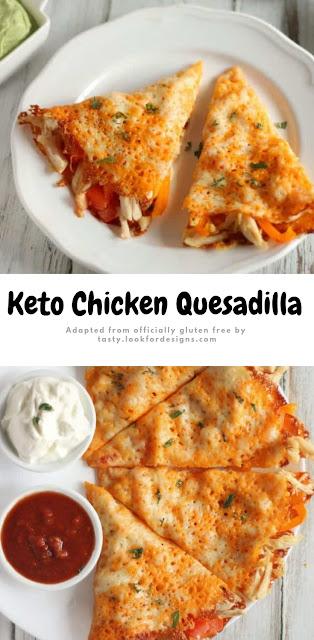 Keto Chicken Quesadilla