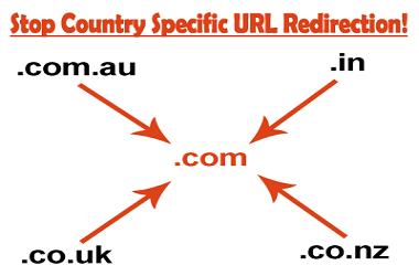 Chặn Blgspot chuyển hướng URL đến các nước cụ thể cải thiện SEO