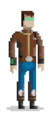 8Bits personaje videojuegos