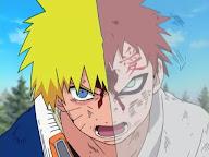 Gaara vs Naruto
