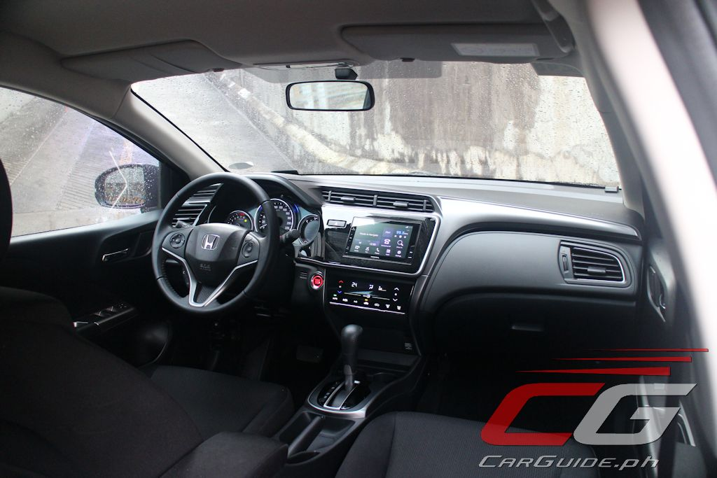 Review 2018 honda city 1 5 vx navi philippine car news for Image city interiors