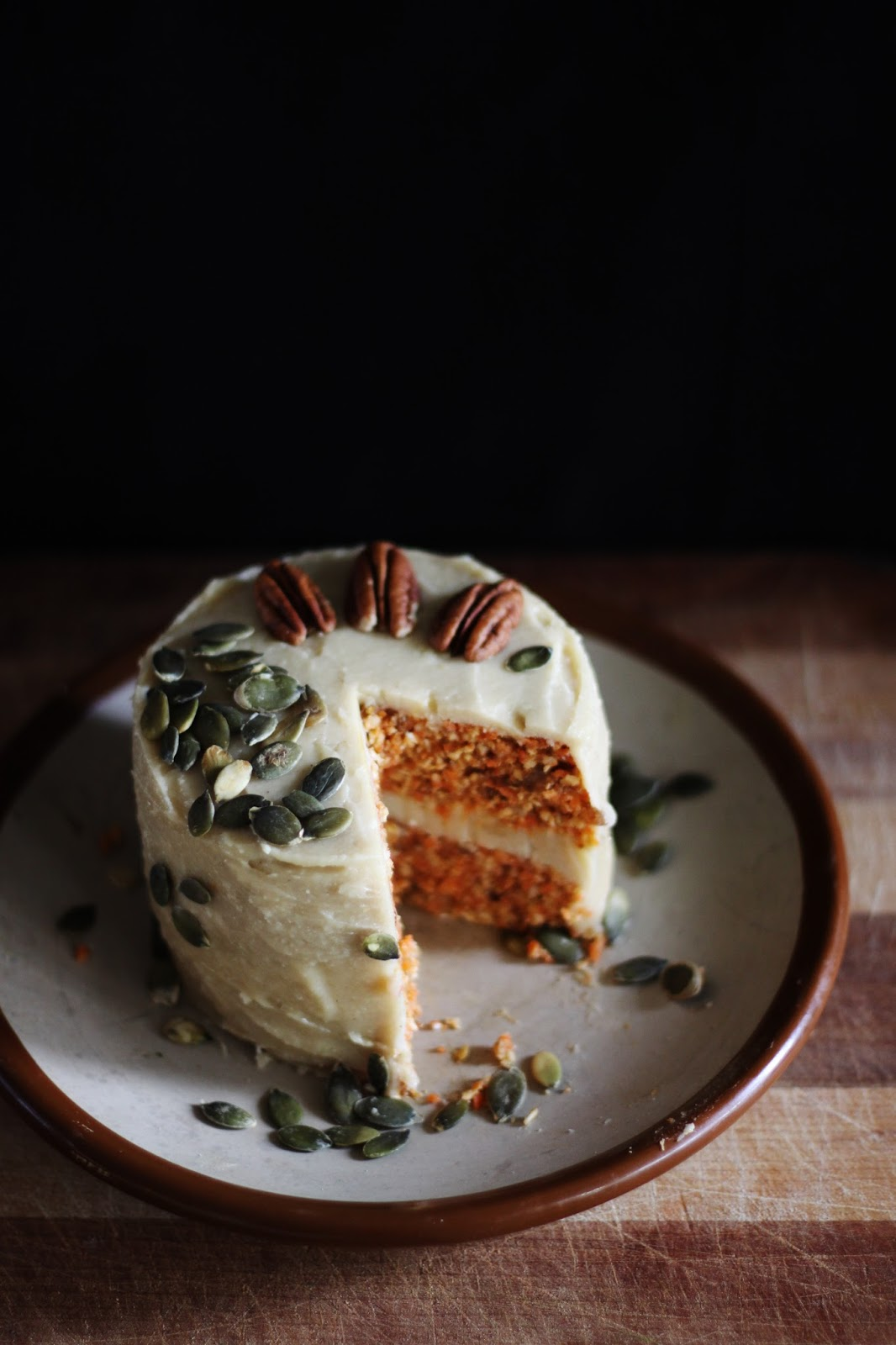 This Rawsome Vegan Life Carrot Cake