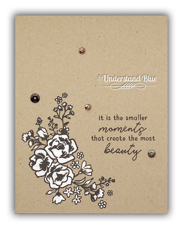 The Most Beauty/Elegant Florals Card by Understand Blue