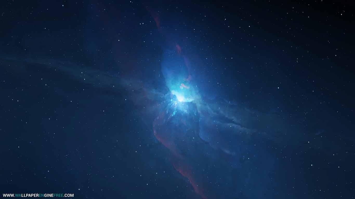 Space Loop (Blue Version) Wallpaper Engine Free | Download ...