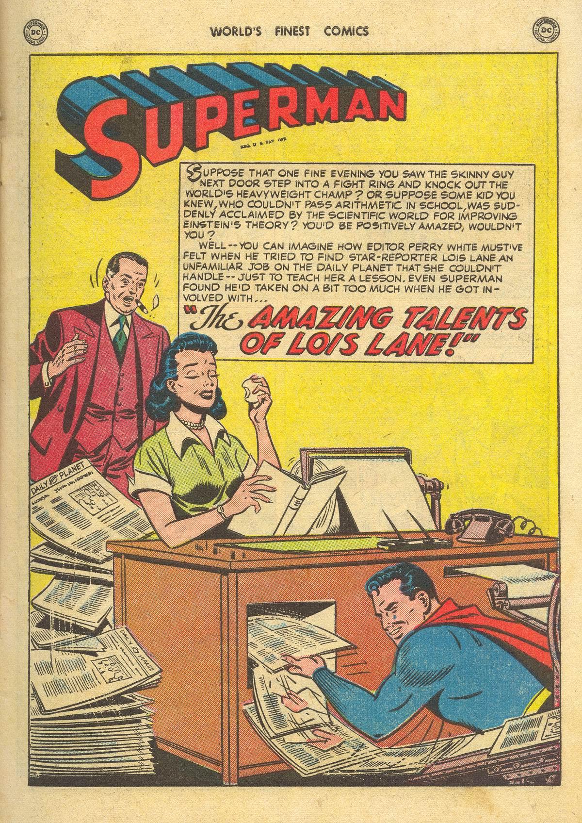 Read online World's Finest Comics comic -  Issue #51 - 3
