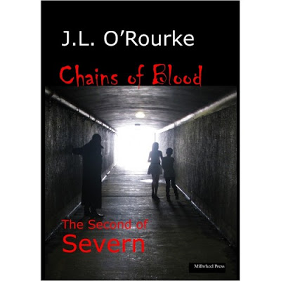 """Chains of Blood"" by Christchurch author J.L. O'Rourke"