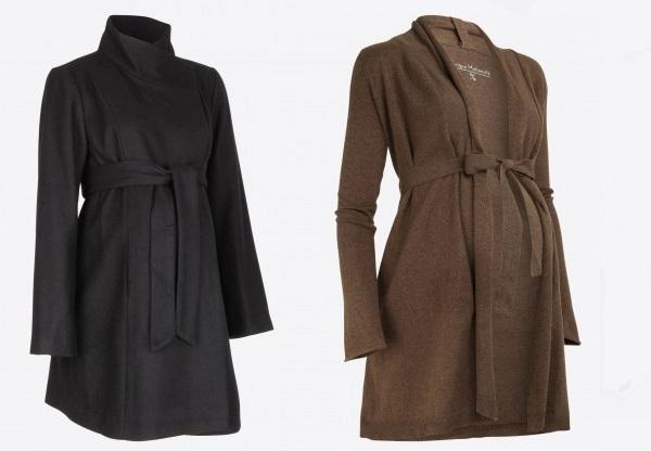 gilet et manteau de grossesse hiver