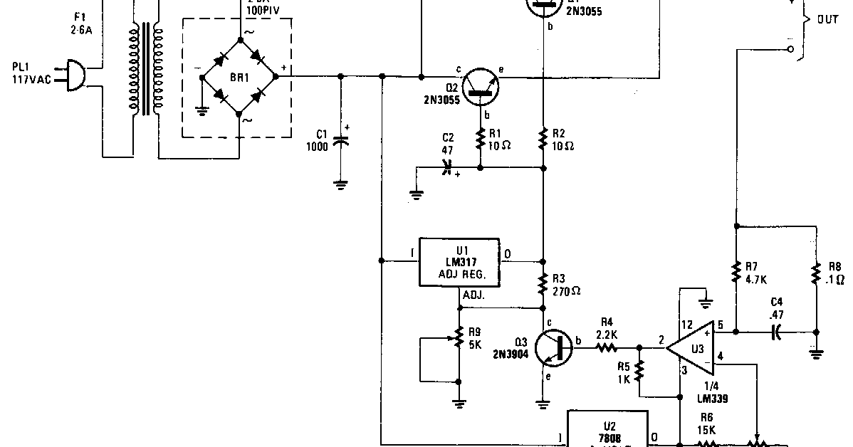 Sensational Super Universal Battery Charger Circuit Diagram Electronictheory Wiring 101 Ponolaxxcnl