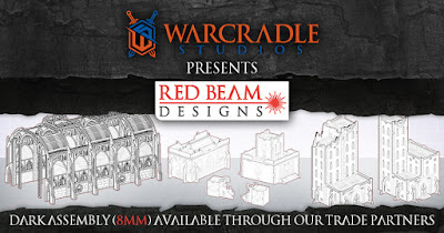 8mm Adeptus Titanicus Buildings from Warcradle Studios