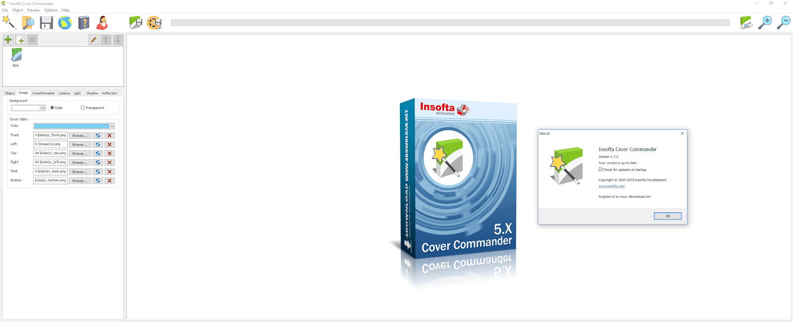 Insofta - Cover Commander 5 Full version