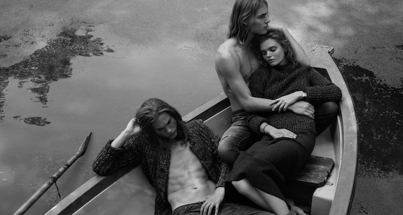 dérives sentimentales: marthe wiggers, ton heukels and emil andersson by alvaro beamud cortes for stylist france october 2015