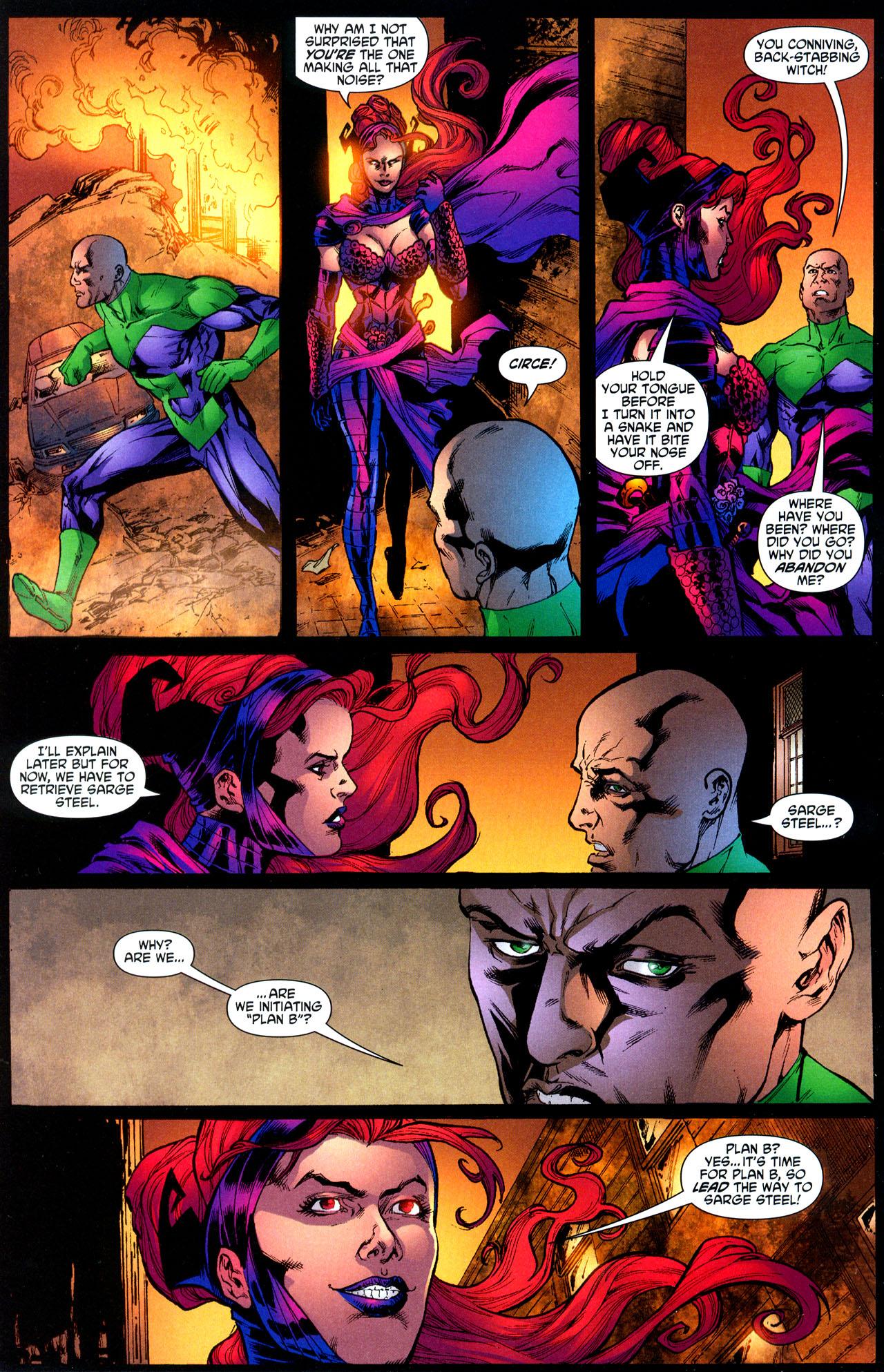 Read online Wonder Woman (2006) comic -  Issue #12 - 12
