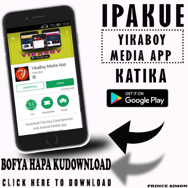 Yika Boy Android App  - For Latest Updates