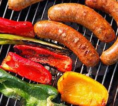 Sausage and Veggies on the Grill