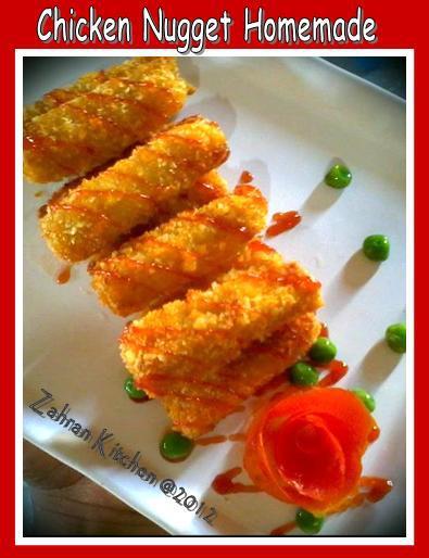 Cara Membuat Nugget Ayam Sayur : membuat, nugget, sayur, Catatan, Bunda~~:, Nugget, Sayur