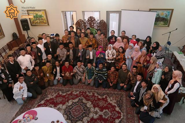 Refleksi Maulid dan Kebangkitan Milenial dalam Peringatan Maulid Nabi di KBRI