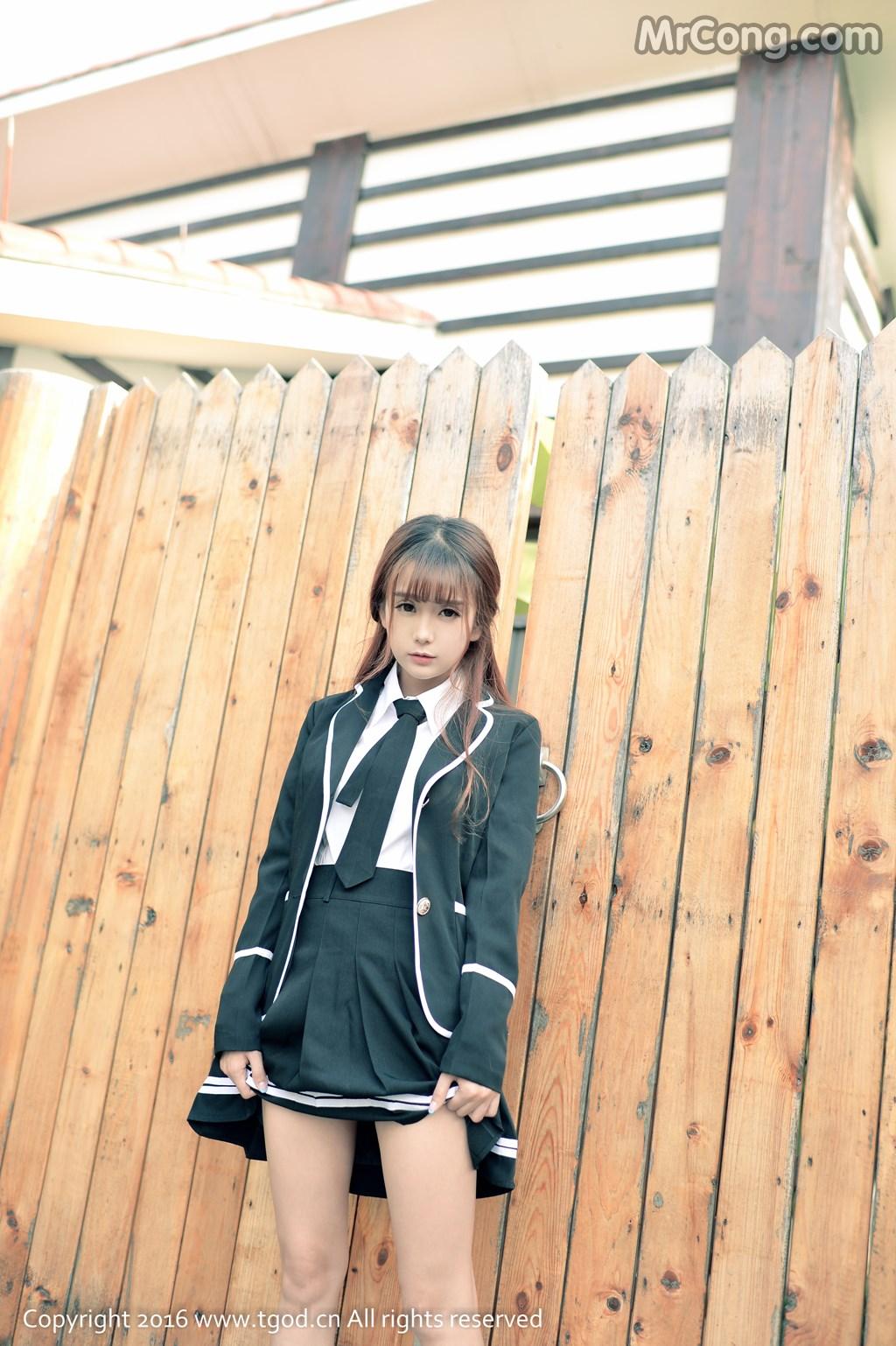 Image MrCong.com-TGOD-2016-02-03-Xiao-Jiu-Vin-009 in post TGOD 2016-02-03: Người mẫu Xiao Jiu Vin (小九Vin) (62 ảnh)