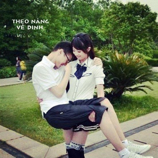 Hình ảnh hài hước về tình yêu