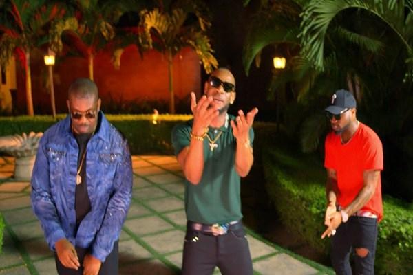 MUSIC VIDEO: D'Prince – Gucci Gang ft. Davido & Don Jazzy
