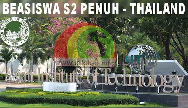 Beasiswa S2 Penuh Asian Instittute of Technology (AIT) Thailand 2019-2020