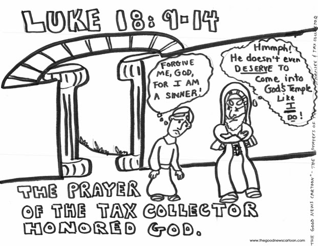 Adam's Sermons: The Pharisee and the Tax Collector (Luke