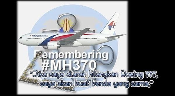 Lima orang pakar pesawat telah membuat satu pembongkaran baru yang mengejutkan mengenai kehilangan mh370. Inilah kronologi sebenar yang selama ini disembunyikan daripada pengetahuan semua orang. Licik betul.
