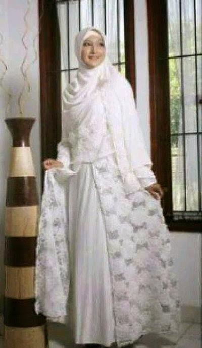 Contoh Model Gaun Pengantin Muslim Modern 2019