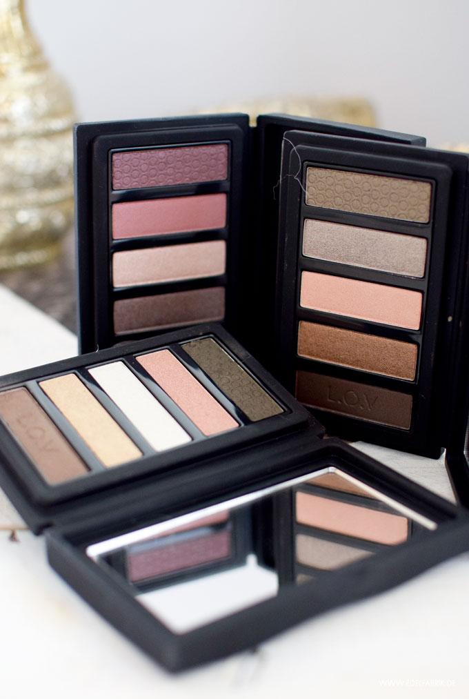 LOV Eyevotion Luxurious Eyeshadow Paletten, alle Nuancen
