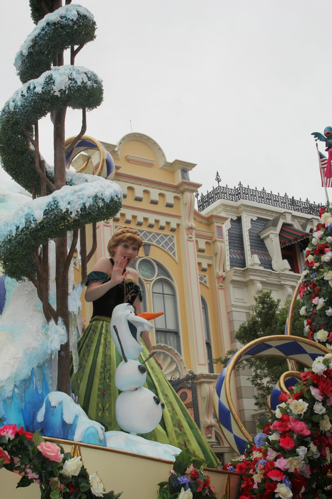 Princess Anna and Olaf