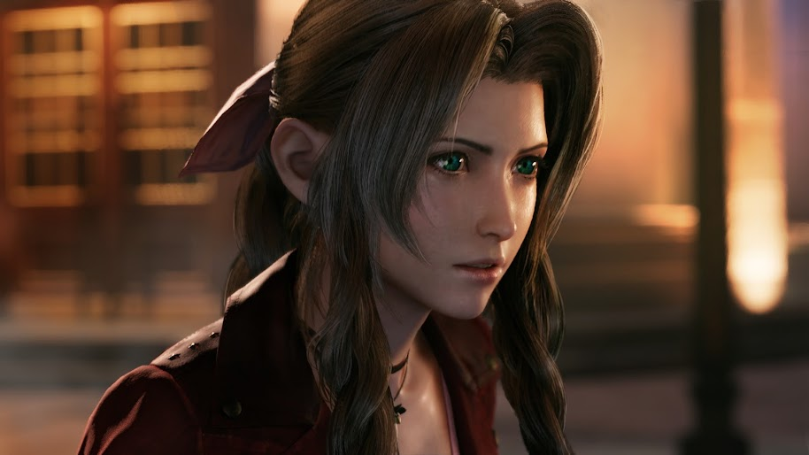 Final Fantasy Vii Iphone Wallpaper Aerith Final Fantasy 7 Remake 4k 32 Wallpaper