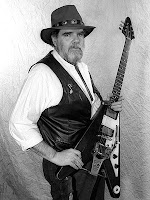 Lonnie Mack mit Flying V