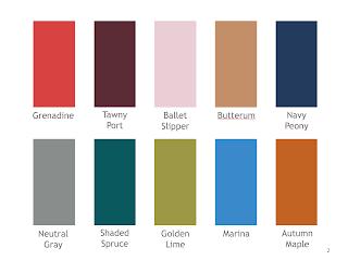 The Vivienne Files Pantone Autumn 2017 Color Planner