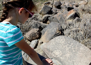 We saw many petroglyphs as we traveled across Arizona, but this small grouping atop Signal Hill Trail at Saguaro National Park - West were the most accessible.