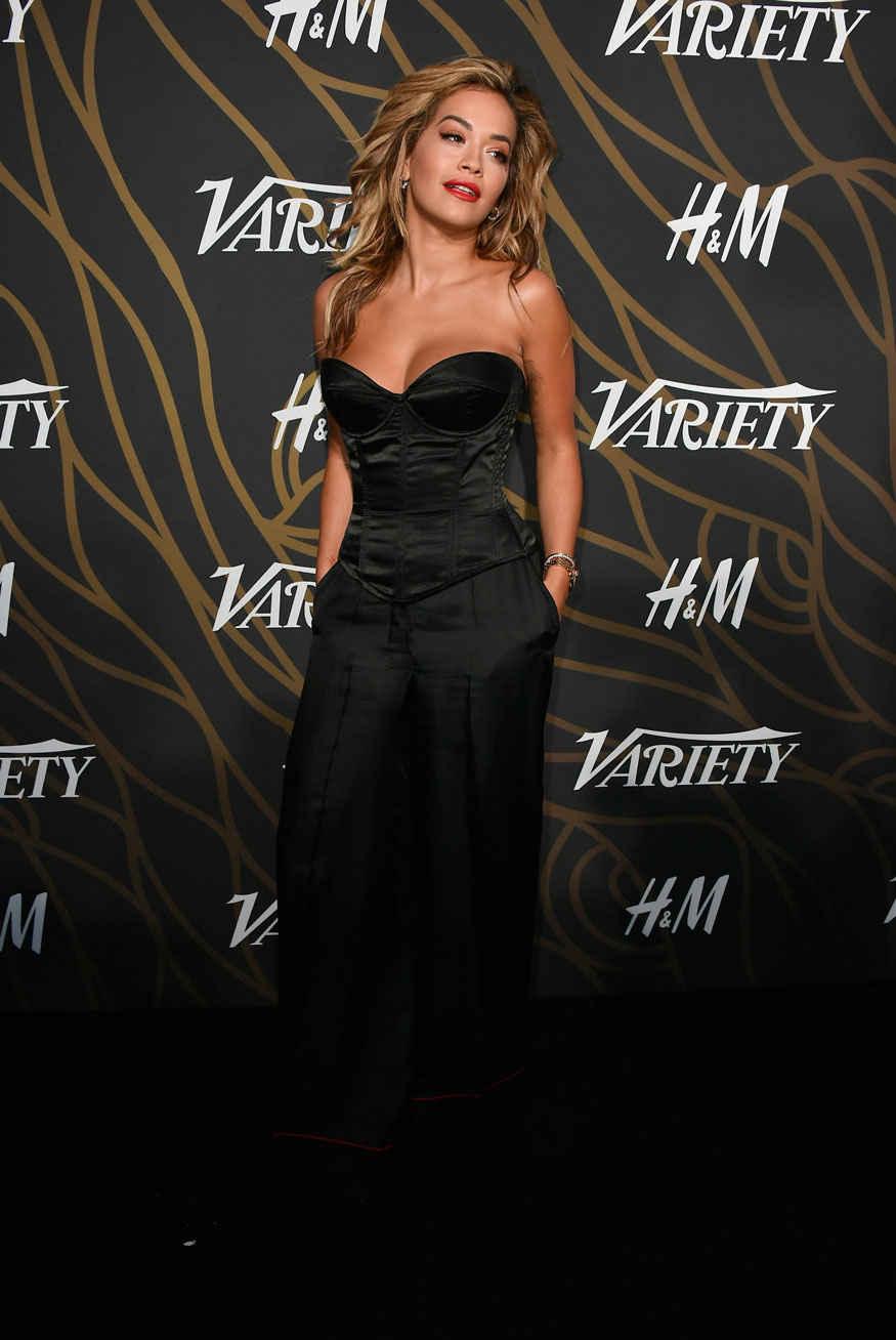 Rita Ora Attends Variety Power of Young Hollywood at TAO Hollywood