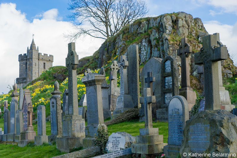 Stirling Cemetery Scottish Highlands Road Trip Itinerary
